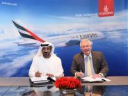 Airbus: A380-Bestellung der Emirates kommt in Augsburg gut an