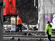Augsburg: Verunglückter Güterzug ist geborgen