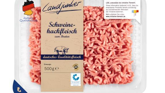 Lidl ruft Hackfleisch der Marke