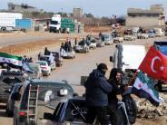 News-Blog: Türkei schickt nach Luftschlägen auch Bodentruppen nach Syrien