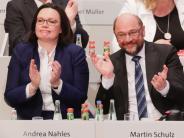 SPD-Parteitag: SPD stimmt für Verhandlungen über Große Koalition