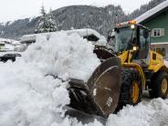 Allgäu: Lawinengefahr in den bayerischen Alpen weiter hoch