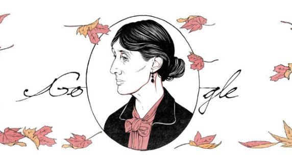 Google Doodle: Virginia Woolf feiert 136. Geburtstag