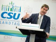 CSU-Klausur: Was Markus Söder für Schwaben tun will