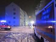 Augsburg: Feuerwehr rettet Bewohner aus drittem Stock