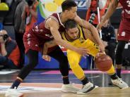 Pokal-Endrunde: Bayern-Basketballer feiern Pokalsieg - ratiopharm Ulm auf Platz drei