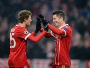 "FC Bayern München: FC Bayern feiert ""super Ergebnis"" gegen Besiktas - Ansage an Robben"