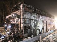 Kreis Lindau: Schüler retten sich aus brennendem Bus – 15 Verletzte