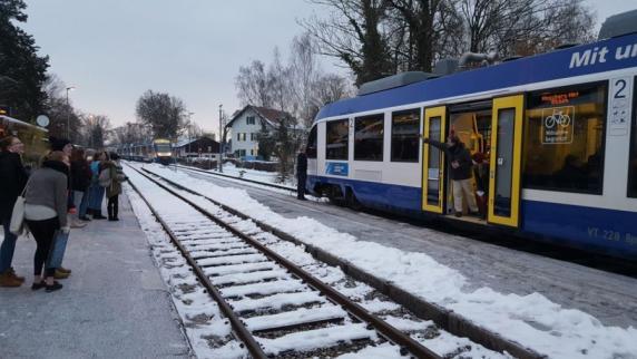 Kreis Landsberg: Wie kamen zwei Züge aufs selbe Gleis?