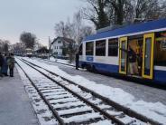 Utting: Unglück verhindert: Zwei Züge auf demselben Gleis