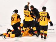 Olympia: Deutsches Eishockey-Team bangt vor Finale um David Wolf