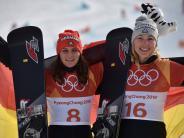 Olympia 2018: Snowboard: Jörg und Hofmeister gewinnen Silber und Bronze