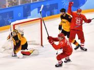 Olympia 2018: Deutsches Eishockey-Team verliert Olympia-Finale knapp