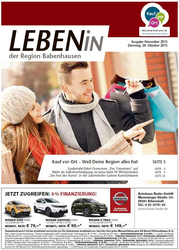 21.10.2015: Leben In: Babenhausen