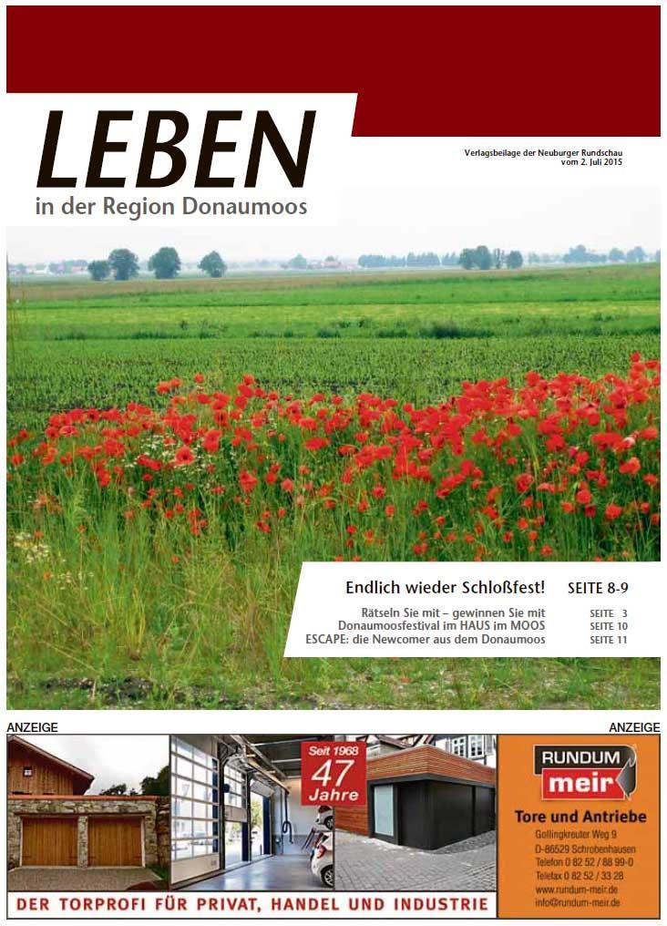 02.07.2015: Leben In: Donaumoos