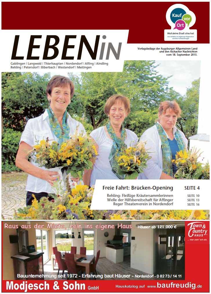 17.09.2015: Leben In: Lechtal