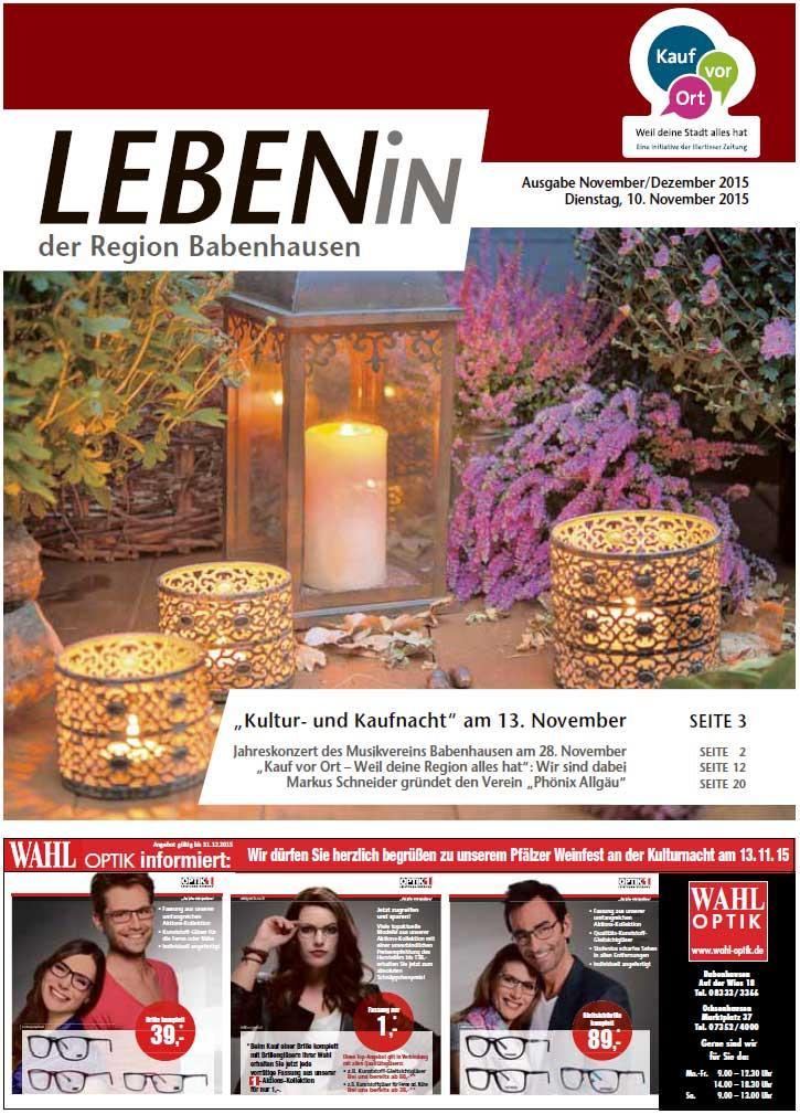 09.11.2015: Leben In: Babenhausen