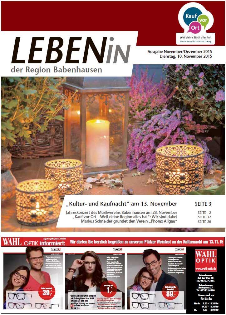 18.11.2015: Leben In: Babenhausen