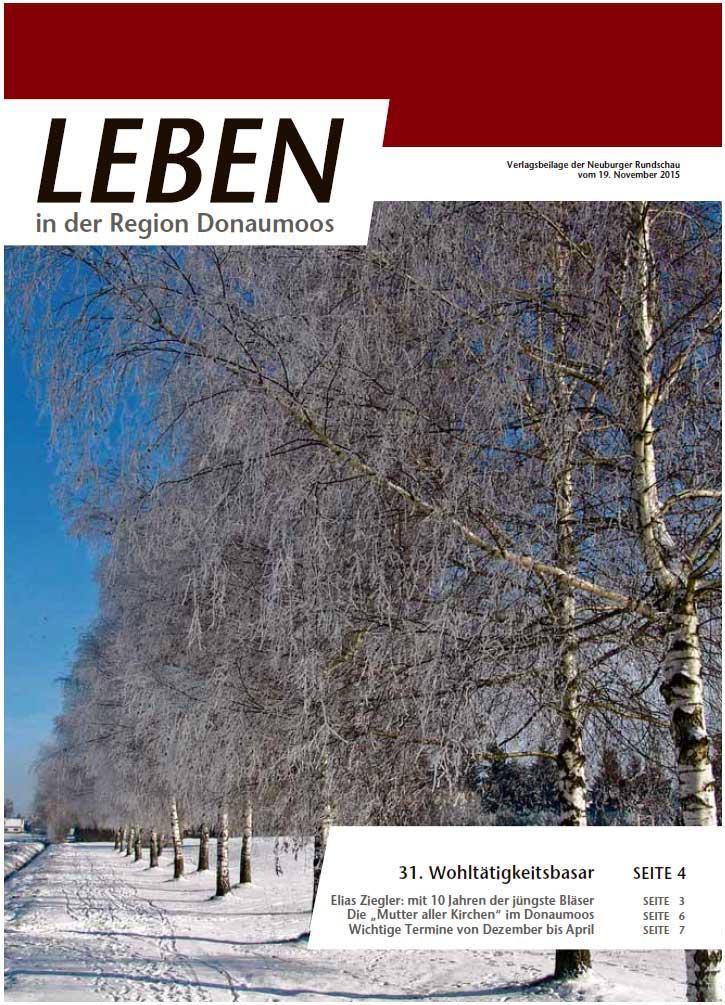 18.11.2015: Leben In: Donaumoos