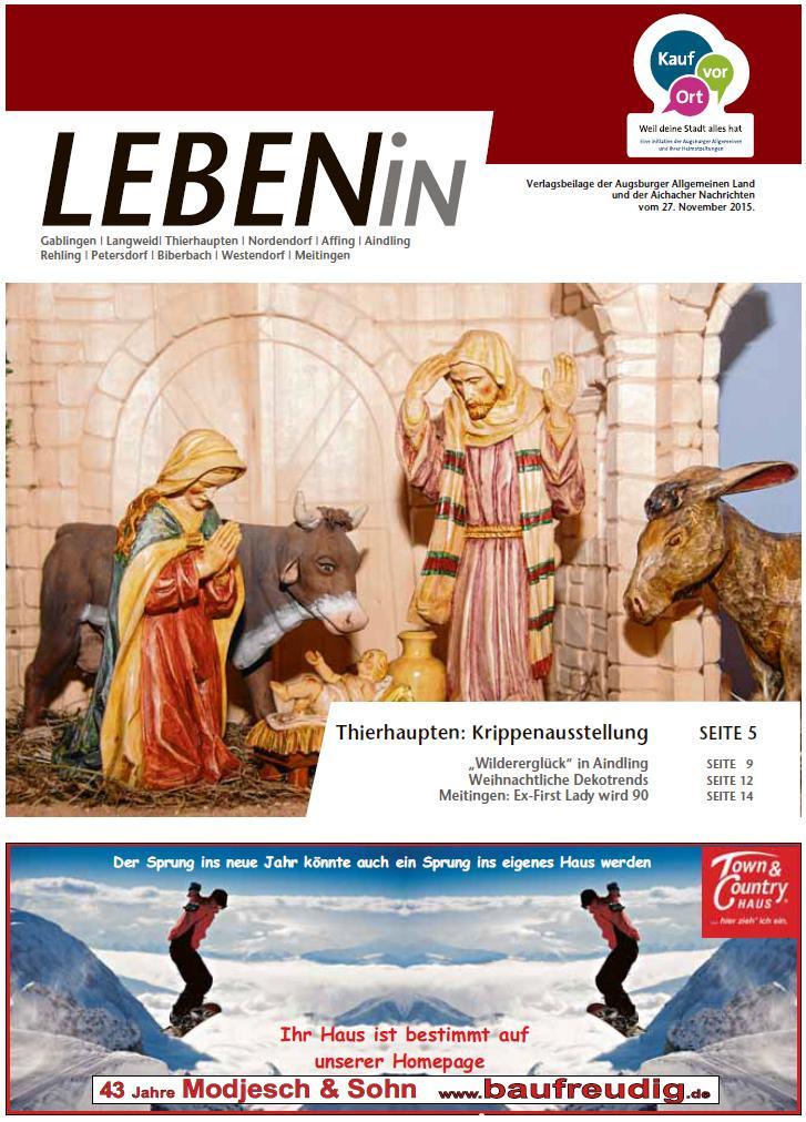 27.11.2015: Leben In: Lechtal