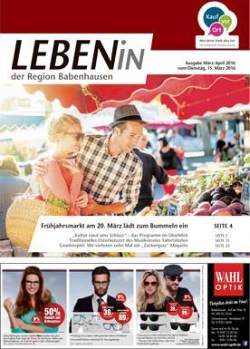 15.03.2016: Leben In: Babenhausen