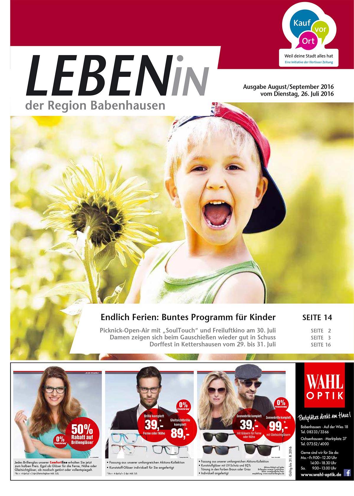 02.08.2016: Leben In: Babenhausen