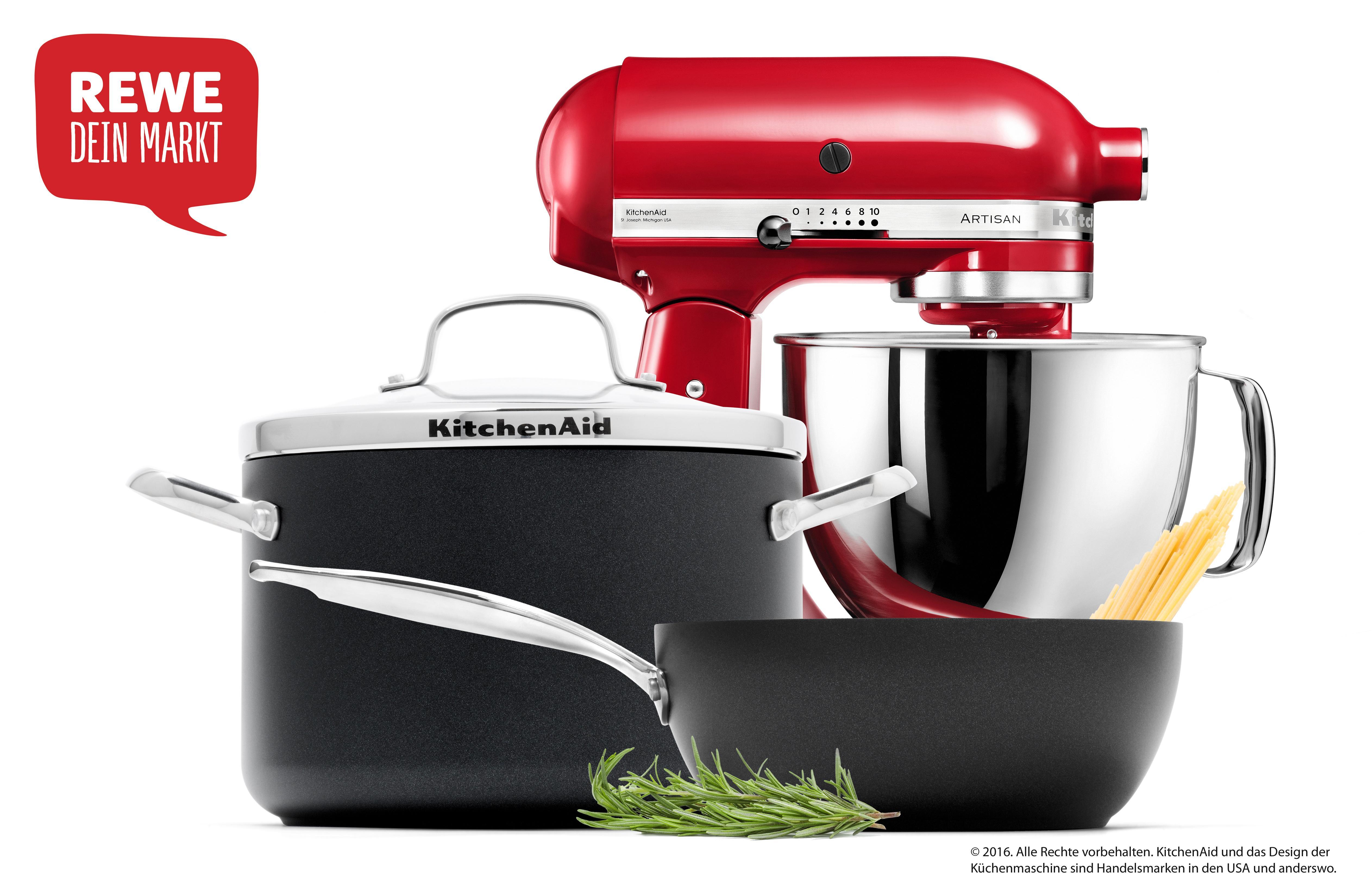 Anzeige: Sammeln, Gewinnen und stilvoll Kochen – mit REWE und KitchenAid