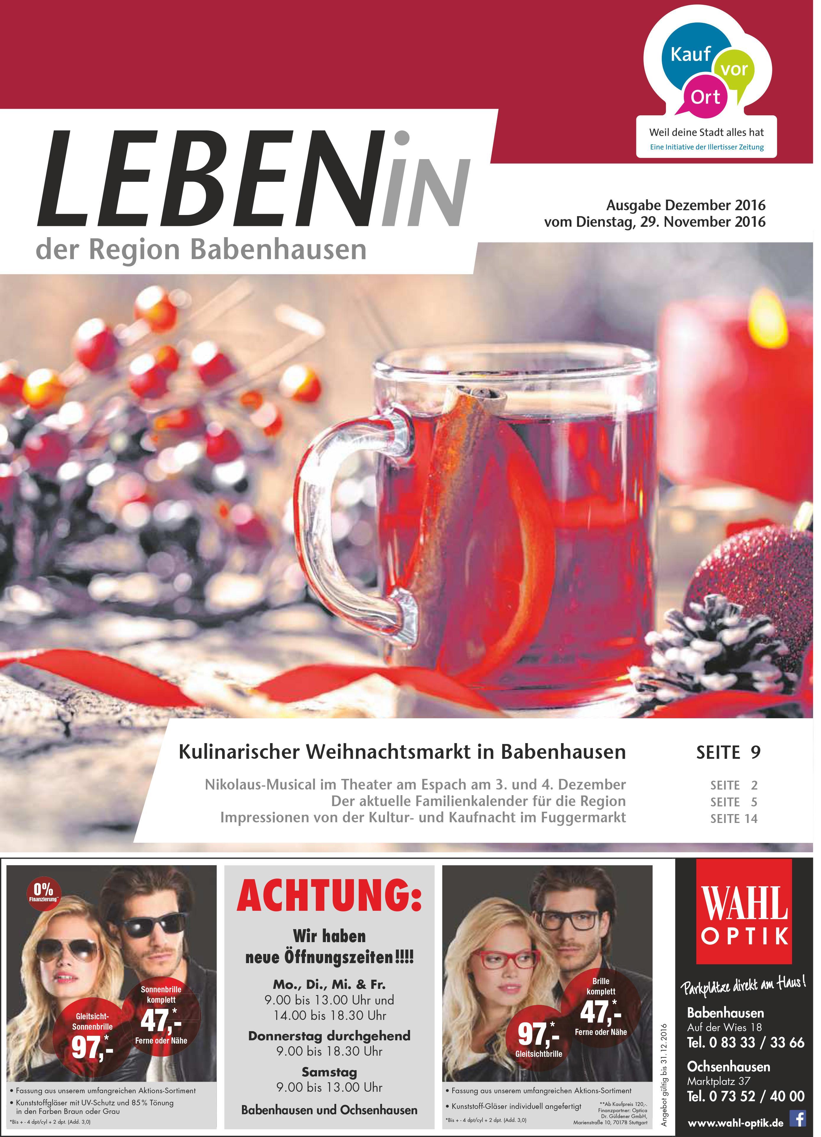 06.12.2016: Leben In: Babenhausen