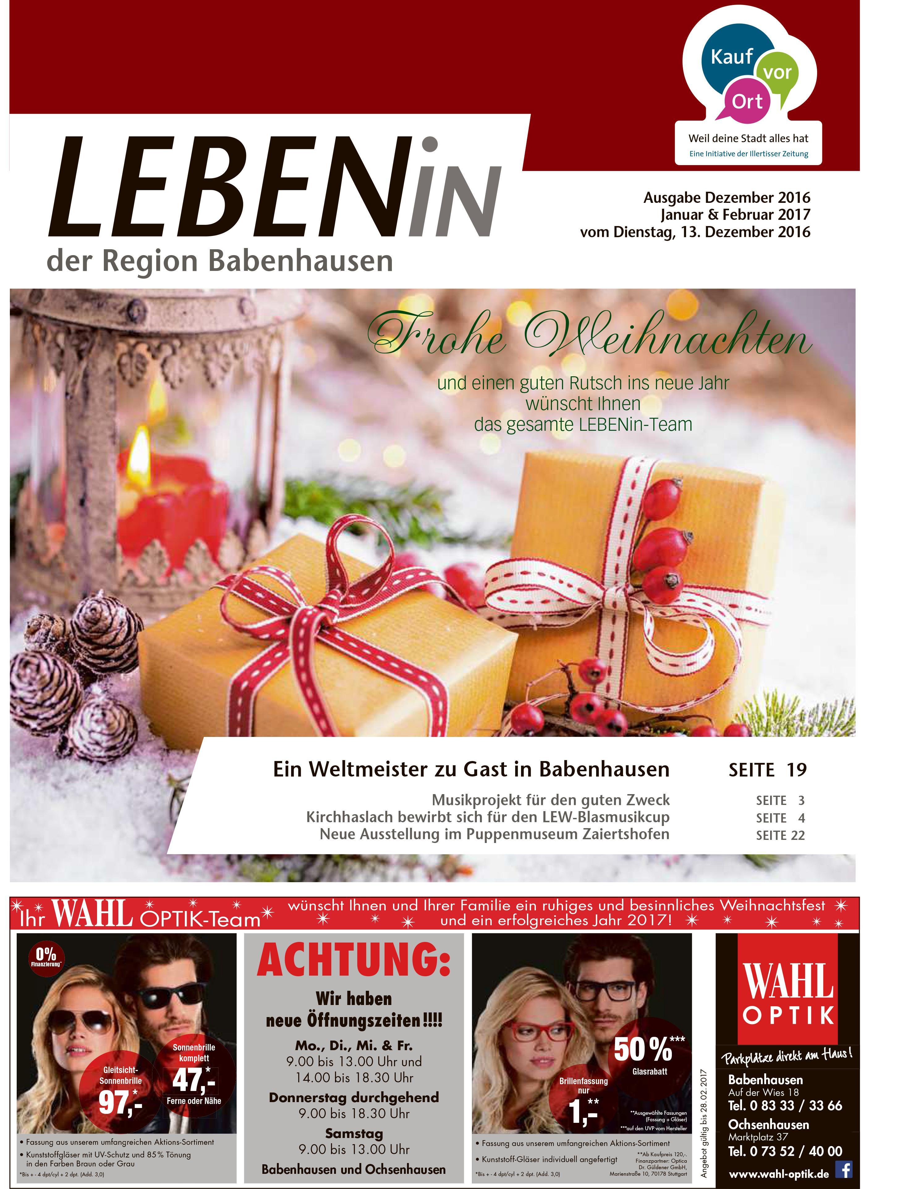 13.12.2016: Leben In: Babenhausen