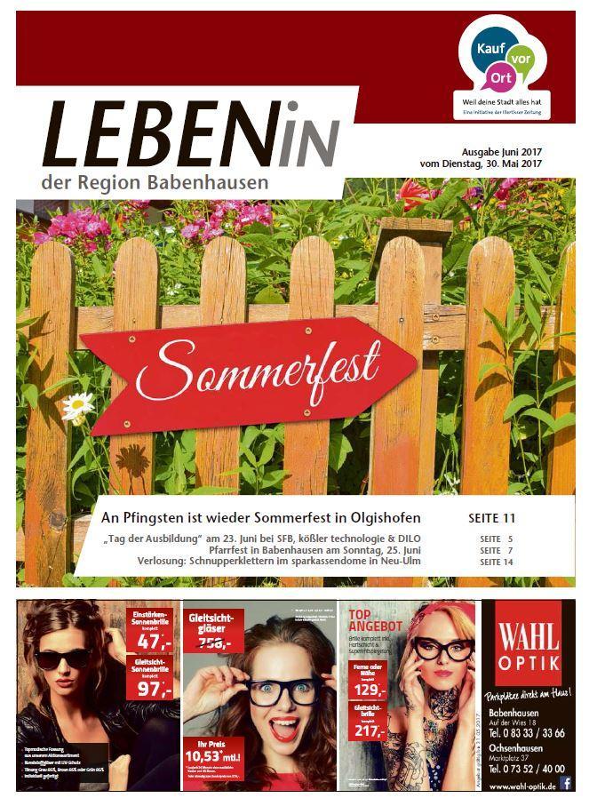 31.05.2017: Leben In: Babenhausen