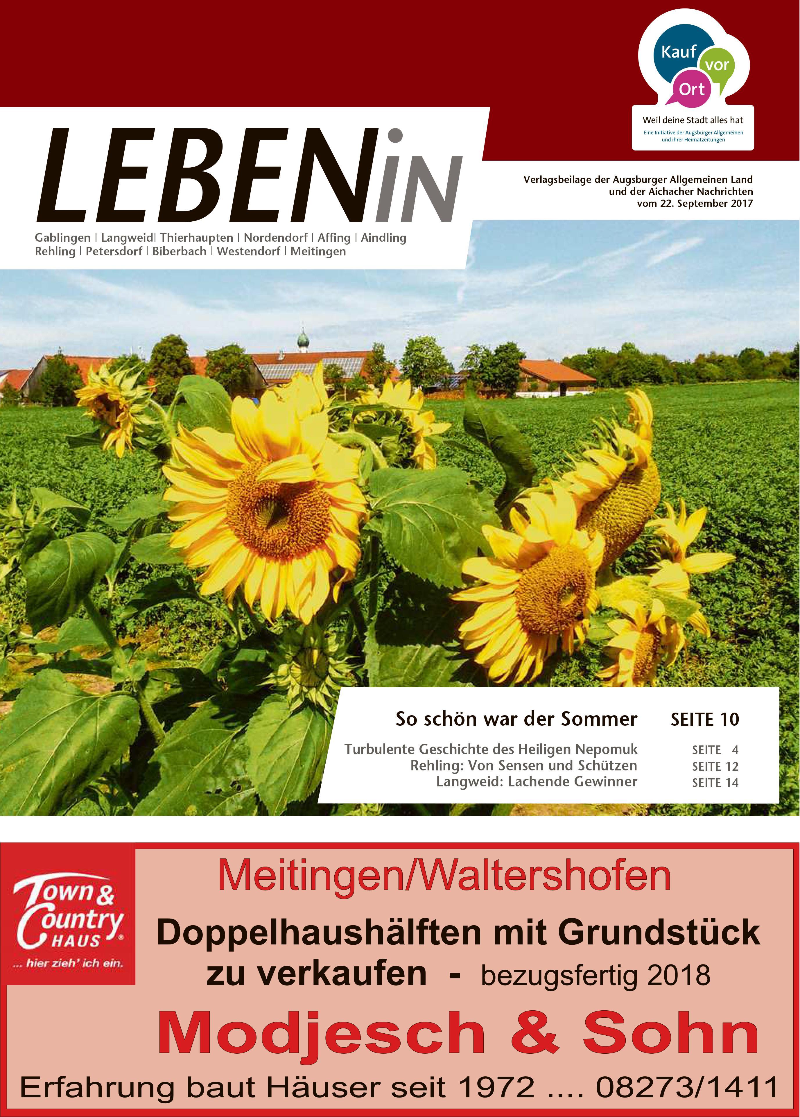 20.09.2017: Leben In: Lechtal