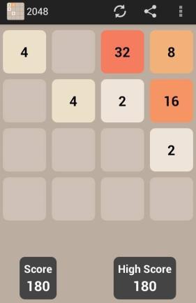 Zahlenspiel 2048