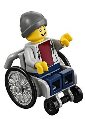 lego kinder spielen jetzt auch mit lego figur im rollstuhl promis kurioses tv augsburger. Black Bedroom Furniture Sets. Home Design Ideas
