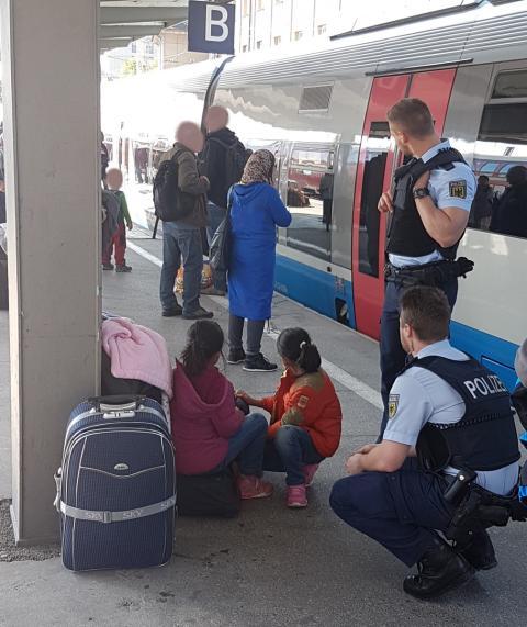 Kinder am Hauptbahnhof zurückgelassen
