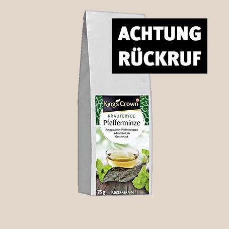 Herzrasen oder Übelkeit drohen: Rossmann ruft diesen Tee zurück