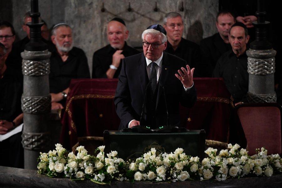выступление Штайнмайера в синагоге
