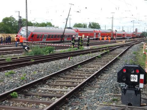 Bahnverkehr nach Zugunfall in Augsburg weiter beeinträchtigt