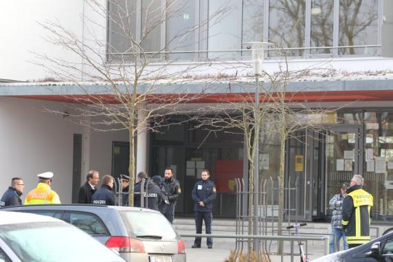 Polizei-Einsatz nach E-Mail -