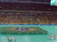 : Brasilianer feiern Abschluss des Confed Cups im Maracanã