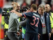 Fußball: Bayern mit «Glücksbringer» Hoeneß auf Triple-Kurs