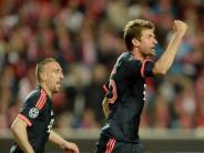 Fußball: Bayern-Startelf gegen Atlético ohne Müller und Ribéry