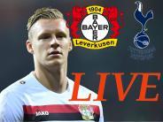 Fußball heute: Bayer Leverkusen - Tottenham Hotspur heute live im Stream und TV