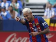 Fußball: Kaufoption über 250 Millionen Euro: Mega-Vertrag für Barcelonas Neymar