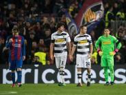 Weiterer Dämpfer: Deprimierender Abschied für Gladbach - 0:4 beim FC Barcelona