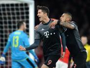 Schon wieder 5:1: Bayern München stürmt gegen Arsenal ins Viertelfinale