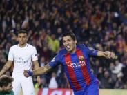 Aus für Paris St. Germain: Wunder in Barcelona - 6:1-Sieg bringt Katalanen weiter