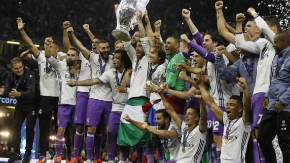 Champions League-Finale Real Madrid verteidigt als erstes Team den Henkelpott