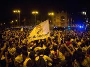 Keine Zwischenfälle: Tausende Real-Fans feiern Königsklassen-Titel in Madrid