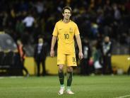 Stürmer mit starker Leistung: «Babyface» Kruse Australiens Hoffnungsträger