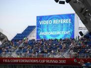 Testphase: FIFA: Videobeweis wird beim Confed Cup weiterentwickelt